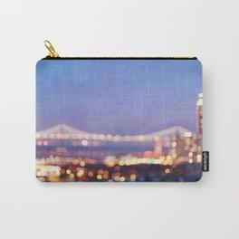 BAY BRIDGE GLOW - San Francisco Carry-All Pouch