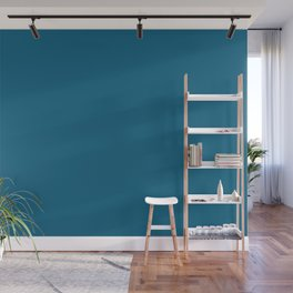 Dunn & Edwards 2019 Curated Colors Blue Velvet (Deep Blue) DET559 Solid Color Wall Mural