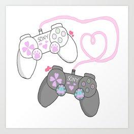 Multiplayer Art Print