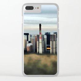 Concrete Jungle #6 Clear iPhone Case