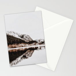LAKE - OCEAN - BAY - SNOW - MOUNTAINS - HILLS - PHOTOGRAPHY Stationery Cards