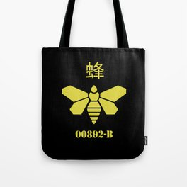 Breaking Bad golden chemical stencil Tote Bag