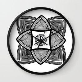 Mimbres Series - 10 Wall Clock