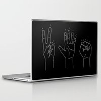politics Laptop & iPad Skins featuring Politics by Emma Winton