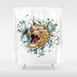 Bobcat Design - LBC Shower Curtain