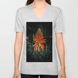 Aloe Vera by Teresa Thompson Unisex V-Neck