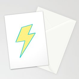 Bolt - Yellow Stationery Cards