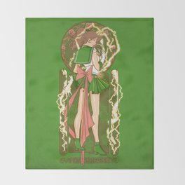 Before the Storm - Sailor Jupiter nouveau Throw Blanket