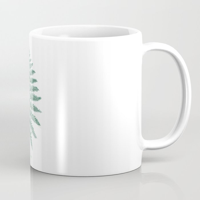 New Zealand Tree Fern Coffee Mug