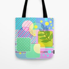 An abstract painting .   Good morning! Tote Bag