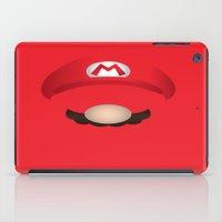 mario iPad Cases featuring Mario by Aaron Macias