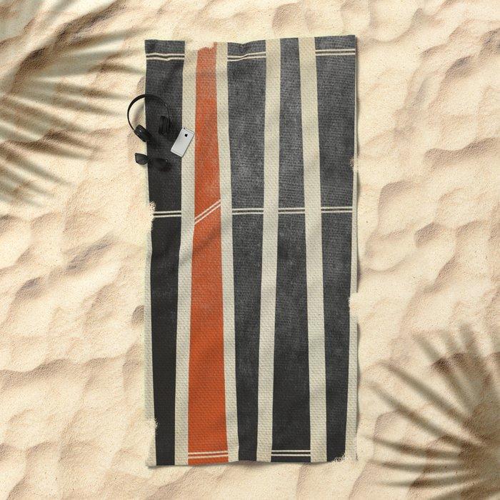 Frenzy Beach Towel
