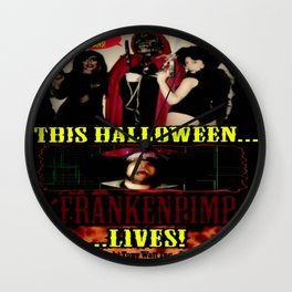 Frankenpimp (2009 )  - 'Original Theatrical Lobby Poster'   Wall Clock
