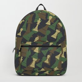 Chess Camo WOODLAND Backpack