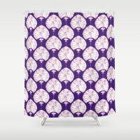 lanterns Shower Curtains featuring Lanterns by Bunyip Designs