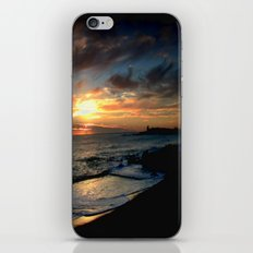 Sunrise over Bass Strait - Tasmania iPhone & iPod Skin
