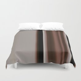 Ombre Brown Earth Tones Duvet Cover