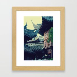 ancient times Framed Art Print