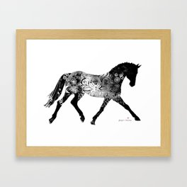 Horse (Noblesse oblige) Framed Art Print