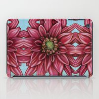 dahlia iPad Cases featuring Dahlia by Valerie Anderson Art