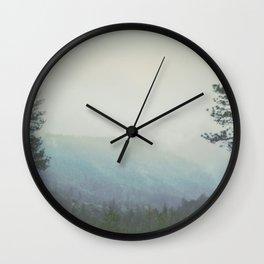 Fleeting Thoughts Wall Clock