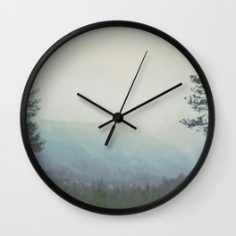 Fleeting Thoughts Wall Clock
