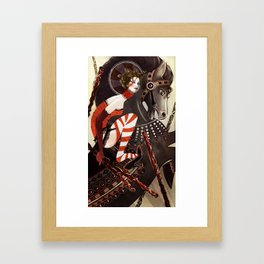 Amanda Palmer Six of Wands Framed Art Print