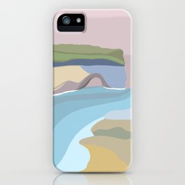 Pictured Rocks Michigan  iPhone Case