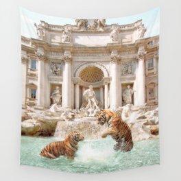 Fontana Di Trevi Wall Tapestry