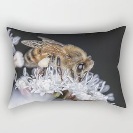Autumn Honeybee Rectangular Pillow