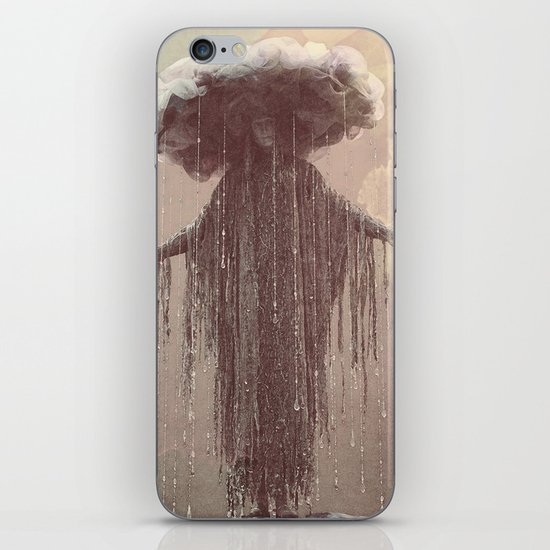 storm lady iPhone & iPod Skin