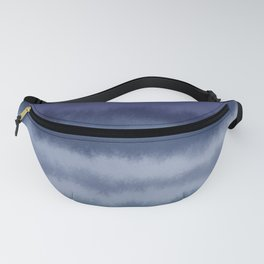 Watercolor ripples Fanny Pack