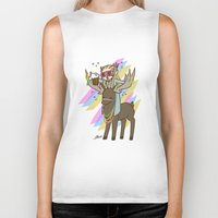 thranduil Biker Tanks featuring Party Thranduil by BlacksSideshow