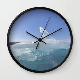 Ice sculptures of Baikal Wall Clock