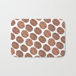 Coffee Beans Bath Mat