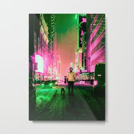 Cyberpunk John Metal Print