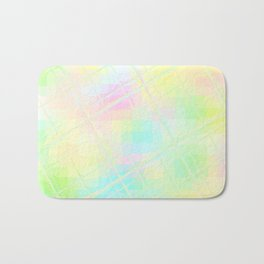 Re-Created Twisted SQ XV by Robert S. Lee Bath Mat