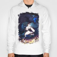 league of legends Hoodies featuring League of Legends - Kindred by dNiseb