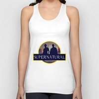 supernatural Tank Tops featuring Supernatural  by amirshazrin