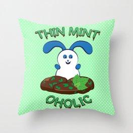 Ernest | Thinmintoholic Throw Pillow