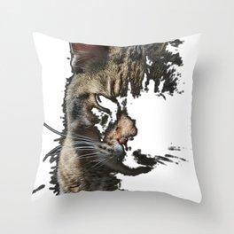 Prrrr Throw Pillow