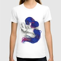 lovers T-shirts featuring Lovers by Sahra Draws