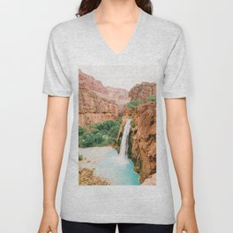 Havasu Falls / Grand Canyon, Arizona Unisex V-Neck