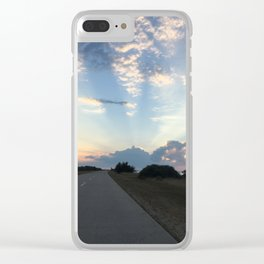 Road to the Heavens Clear iPhone Case