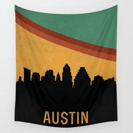 Austin Skyline Wall Tapestry