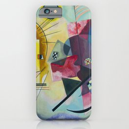 Wassily Kandinsky Geometric Composition iPhone Case