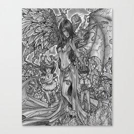 Devourer of Angels Canvas Print