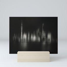Shanghai Skyline IV Mini Art Print