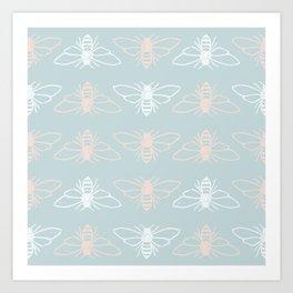 Bees? Art Print