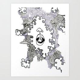 piece  Art Print